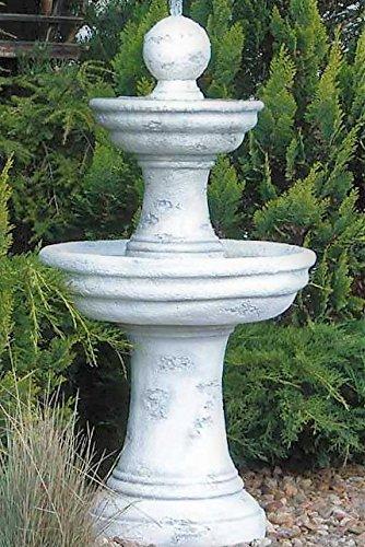 Antikes Wohndesign Steinbrunnen Springbrunnen Delphinen Brunnen Zierbrunnen Wasserspiel Gartenbrunnen Höhe: 123 Gewicht: 140KG