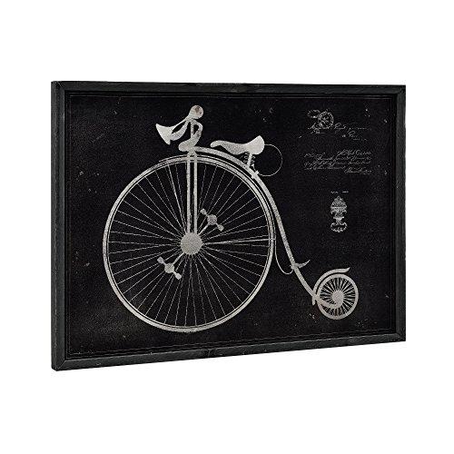 Unbekannt [Art. Work] Pared Imagen sobre Placa de Aluminio Enmarcado 50x 70cm biciclo
