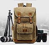 Rnalley Große Kapazität Wasserdicht Leinwand Rucksack Reisetasche Kamera Tasche Kamera Set Digitalkamera und