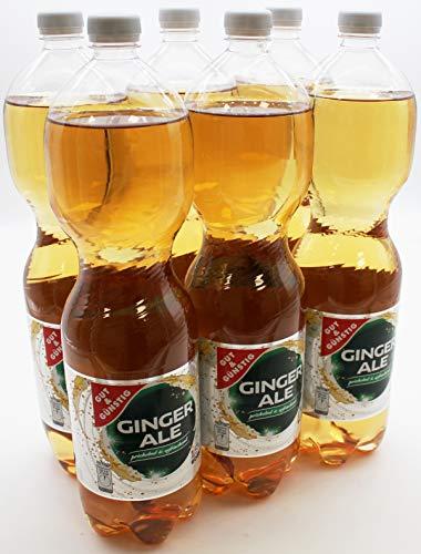 Gut und Günstig Ginger Ale, 6er Pack (6 x 1.5 l) EINWEG