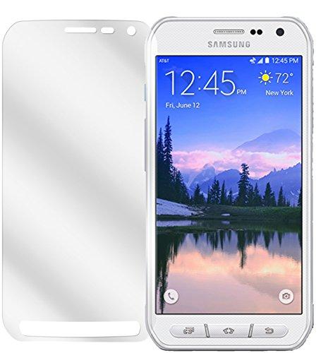 dipos I 6X Schutzfolie klar kompatibel mit Samsung Galaxy S6 Active Folie Bildschirmschutzfolie