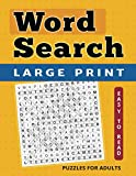Word Search Puzzles: Large Print Word Find for Adults and Kids (Large Print Brain Games)