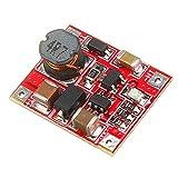 Módulo electrónico 3V / 3.7V a 5V 1A de la batería de litio Paso Boost de hasta el tablero del módulo móvil Mini energía del cargador de módulo con tensión baja Indicación 5pcs Equipo electrónico de a