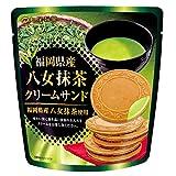 七尾製菓 クリームサンド抹茶 6枚 ×10袋