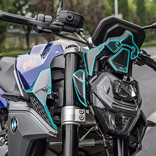 Motocicleta 2D Carbono F900R Carne de carenaje Emblema Etiqueta de calcomanías Cuerpo Completo Kits Pegatina de decoración para BMW F900R F 900 R 2020 (Color : Model 2)