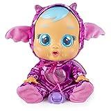 CRY BABIES Fantasy Bruny il drago - Bambola interattiva che piange lacrime vere con ciuccio e Pigiama, per Bambini e Bambine dai 2 Anni