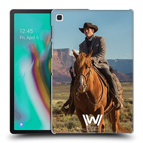 Head Case Designs Offizielle Westworld Teddy Flood Darsteller Harte Rueckseiten Huelle kompatibel mit Samsung Galaxy Tab S5e