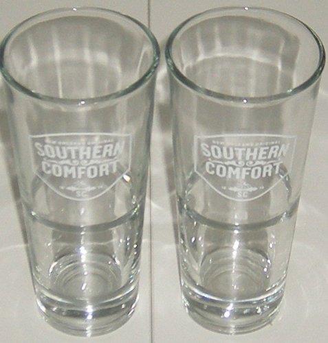 2 Stück Southern Comfort Gläser mit Logo