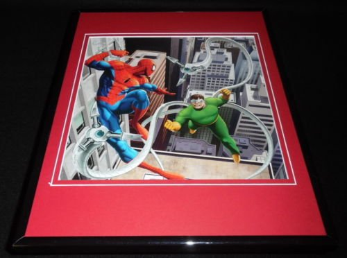 Amazing Spiderman vs Dr Octopus Framed 11x14 Photo Display