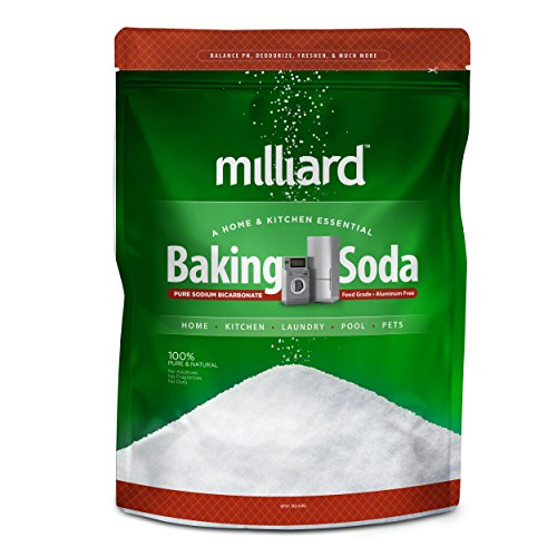 Milliard Sodium Bicarbonate USP (AKA Baking Soda/Bicarbonate of Soda) (19 Pound)