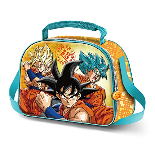 Karactermania Dragon Ball Saiyan-3D Lunch Bag Cartella, 26 cm, Multicolore (Multicolour)