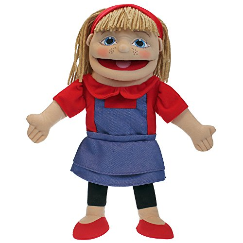 The Puppet Company Puppet Buddies, piccola ragazza, tonalità della pelle chiara Marionetta da Mano