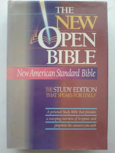 Compare Textbook Prices for Holy Bible: The New Open Bible, Study Edition, New American Standard Bible Open Study Ed Edition ISBN 9780840709998 by Nelsonword Publishing Group (Creator)
