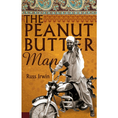 The Peanut Butter Man audiobook cover art