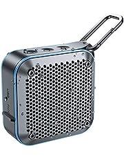 【2020最新版】LEHII BT525 Bluetoothスピーカー完全ワイヤレス ミニ 小型minコンパクポータブルスピーカー、IPX7防水規格、FMラジオ機能、強化された低音大音量、TWS対応 車載、12時間連続再生、風呂用、アウトドア、內蔵マイク、AUXケープルポート、USB充電、TFカード、カラビナ