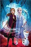 Disney Laminiert Frozen 2 Guided Spirit Maxi Poster 61 x