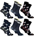 Disney Socks And Underwear - Chaussettes homme Licence fantaisie : Disney, Looney tunes, Snoopy en Coton -Assortiment modèles photos selon arrivages- Pack de 6 paires Snoopy 39/46 Eur