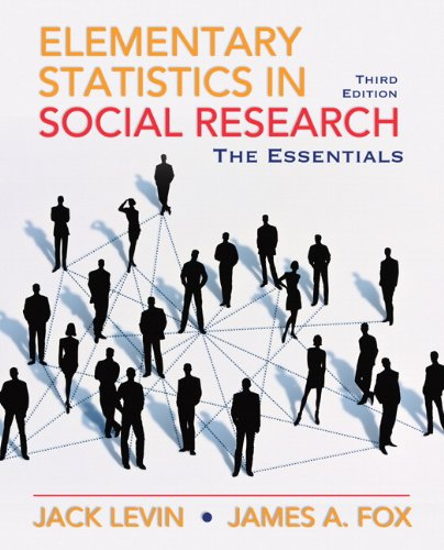 Elementary Statistics in Social Research: Essentials (3rd Edition)