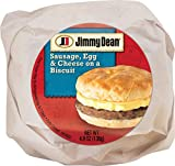 Jimmy Dean Sausage, Egg & Cheese Biscuit, 4.9 oz (12 Count)