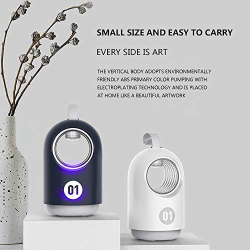 Mosquito Killer Lamp - Lámpara mosquitera de bajo voltaje, ultravioleta, alimentación por USB, luz silenciosa al aire libre
