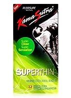 KamaSutra Pleasure Superthin Condom - 12 Pcs (Pack of 3) (Ship from India)