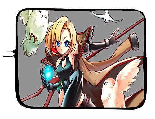 Brand4 Maria The Virgin Witch Anime Laptop Sleeve Bag w/Mousepad Surface - Fits Up to 15 Inch Notebook Mac Book Pro MacBook Air Surface Pro All Laptops & Tablets Protector