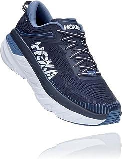 Hoka Bondi 7 Wide Plan Men's Running Shoe (Ombre Blue