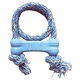 KONG - Puppy Goodie Bone with Rope - Teething...