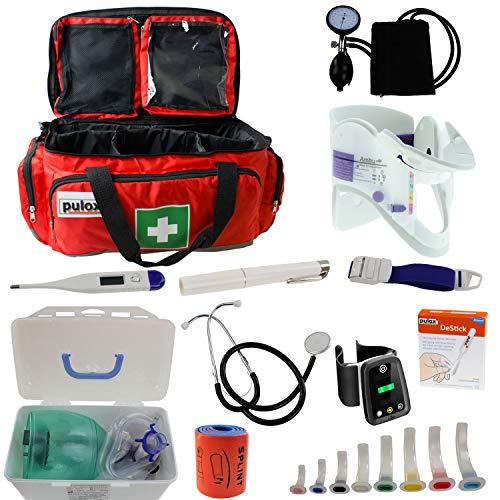 Notfalltasche Pulox Erste Hilfe Tasche - Erste Hilfe Set 44 x 27 x 25cm (LiSa LifeSaver Set)