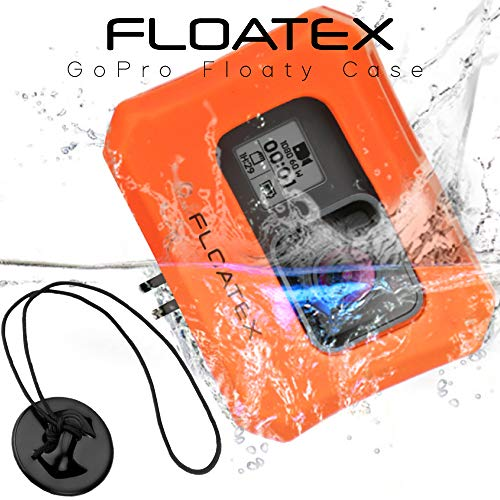 FLOATEX Floaty Case   Float for GoPro Hero 5, Hero 6, Hero 7   Ultra-Buoyant Floating GoPro Case with Bonus Safety Tether   Save Your Memories