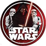 Star Wars Runde Tortenaufleger 20CM - Geburtstag Tortenbild Zuckerbild Tortenplatte