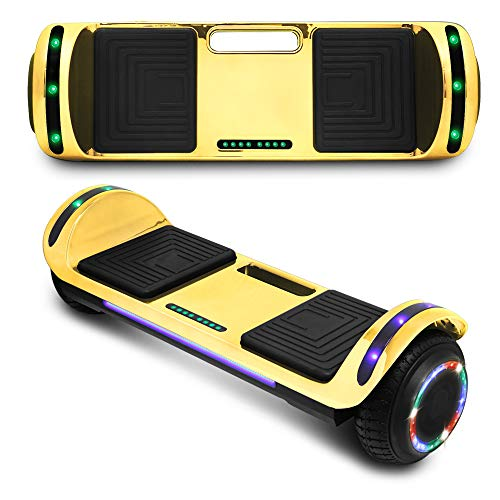 CHO POWER SPORTS 2020 Electric Hoverboard UL Certified Hover Board Electric Scooter with Built in Speaker Smart Self Balancing Wheels