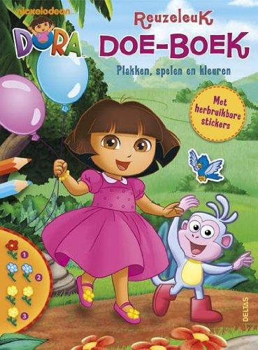 Dora reuzeleuk doe-boek: plakken, spelen en kleuren