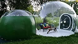 Image of transparent bubble tent
