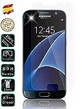 Movilrey Protector para Galaxy S7 Normal Cristal Templado de Pantalla Vidrio 9H para movil