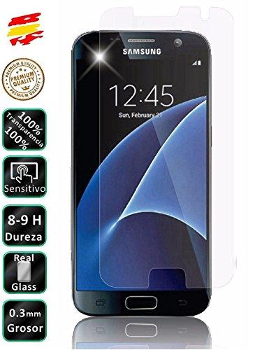 Movilrey Protector para Samsung Galaxy S7 G930 Cristal Templado de Pantalla Vidrio...