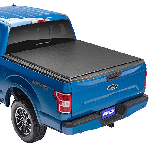 "Tonno Pro Lo Roll, Soft Roll-up Truck Bed Tonneau Cover | LR-3095 | Fits 2017 - 2021 Ford Super Duty 6' 10"" Bed (81.9"")"