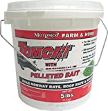 Motomco Tomcat Mouse and Rat Bromethalin Pellets, 5-Pound