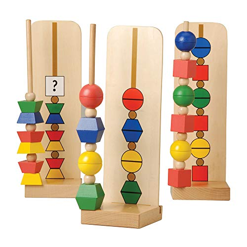 Buy Discount Constructive Playthings Build-by-Pattern Beads for Children, Ages 4 and Up