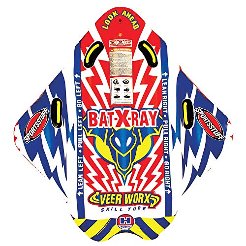 Sportsstuff Bat X Ray | 1 Rider Towable Tube for Boating