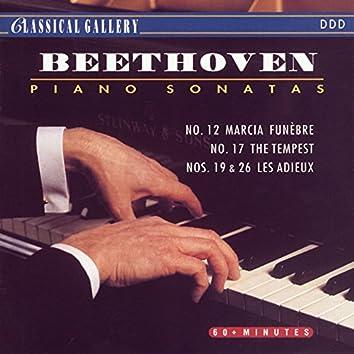 "Beethoven: Piano Sonatas Nos. 12, 17, 19 & 26 ""Les Adieux"""