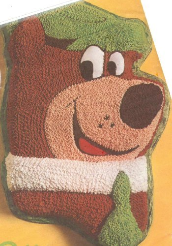 Wilton Yogi Bear Cake Pan (502-178, 1975) Jellystone Park Hanna Barbera Retired
