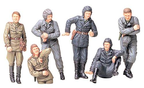 タミヤ 1/35 ミリタリーミニチュアシリーズ No.214 ソビエト陸軍 戦車兵 小休止セット プラモデル 35214