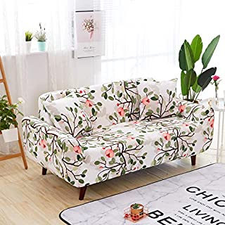 HoneiLife Spandex Fabric Stretch Couch Cover Sofa Slipcover Stylish Furniture Protector for 3 Cushion Couch,3 Seater