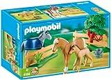Playmobil - 4188 - Jeu de construction - Famille de chevaux