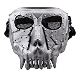 Fansport Outdoor Games Mask Paintball Mask CS Activity Full Face Mask Hunting Mask