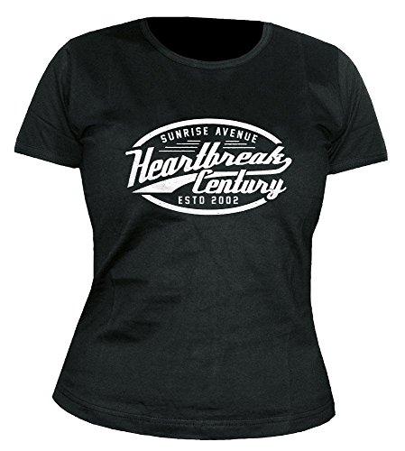Sunrise Avenue - Heartbreak Century - Sign - Girlie - Shirt Größe S