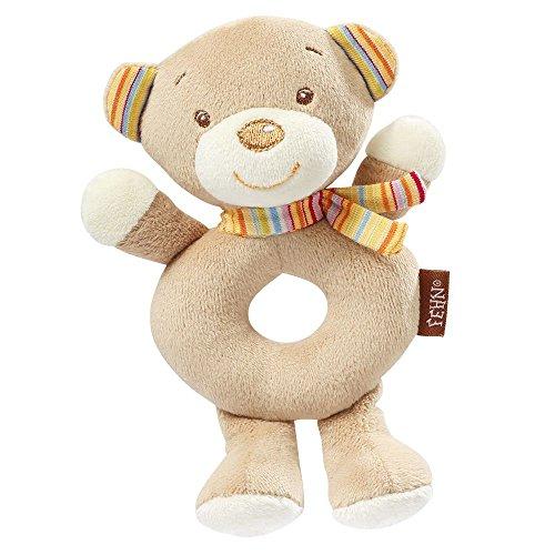 Fehn 160949 Ring-Greifling Teddy, Rainbow