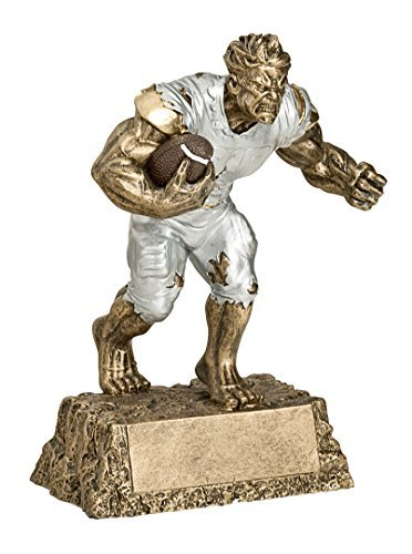 Monster Football Trophy | Fantasy Football Award by Decade Awards
