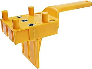 タボ継ぎ用ジグ ハンドヘルド 6mm 8mm 10mm ホールソー ドリルガイド 適する ダウエル ドリル 木工DIYジグ工具 日本語説明書付き